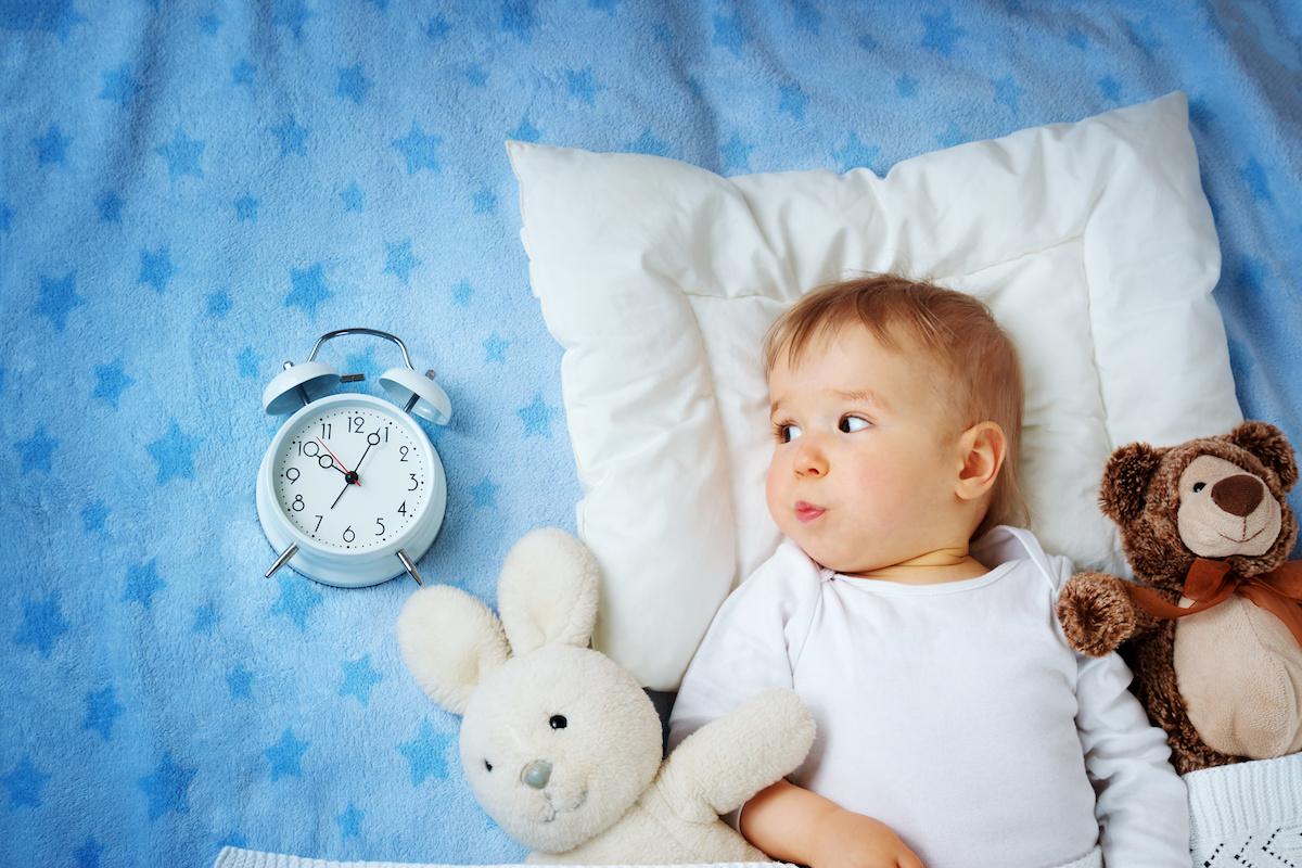 Как организовать правильный режим дня для годовалого ребенка