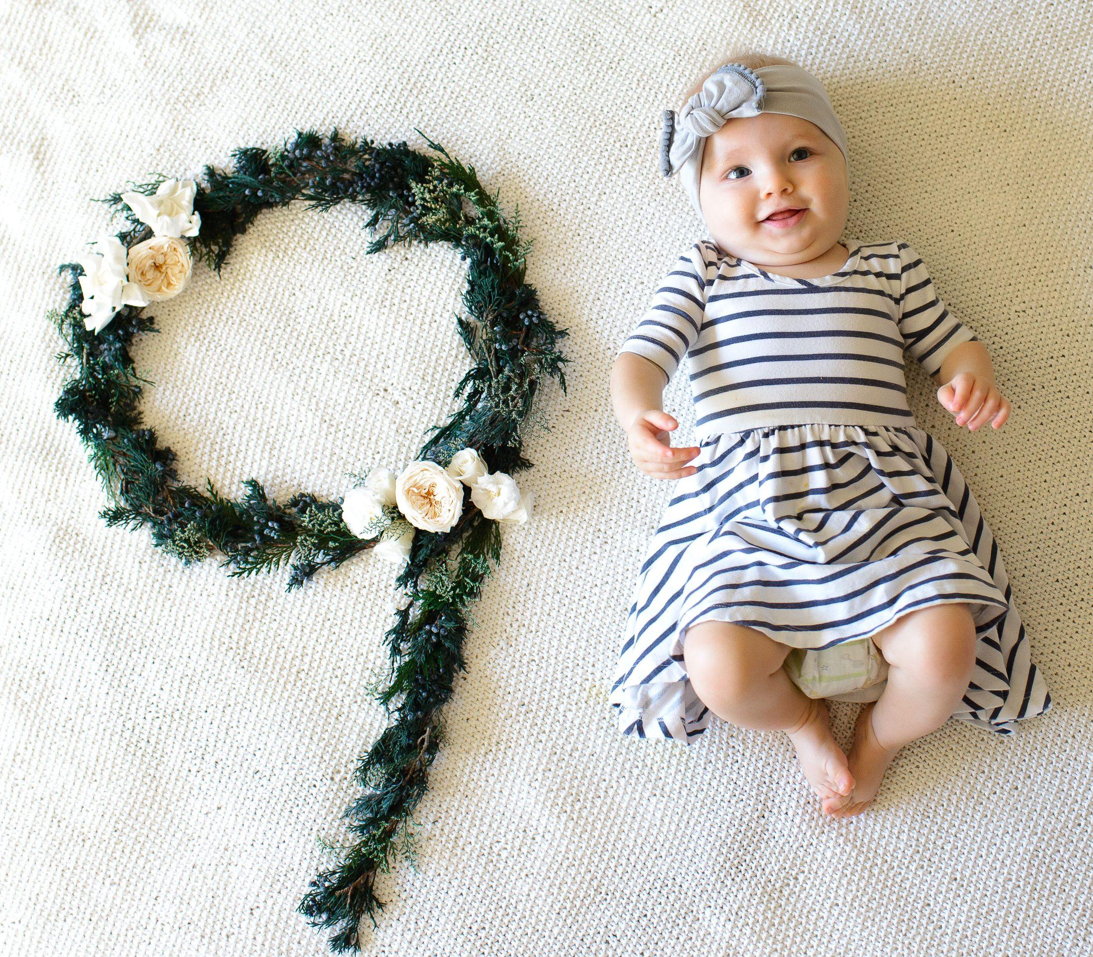 Ребёнок в 9 месяцев — развитие грудничка